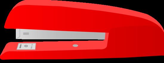 Big Red Office Stapler