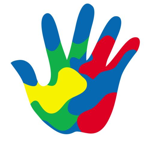 Painted Childs Hand Logo