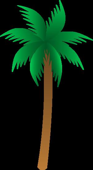 Simple Palm Tree Design
