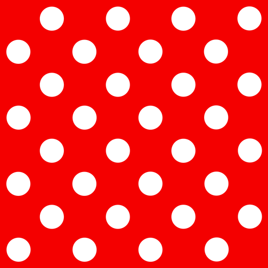 Red and White Polka Dots Pattern