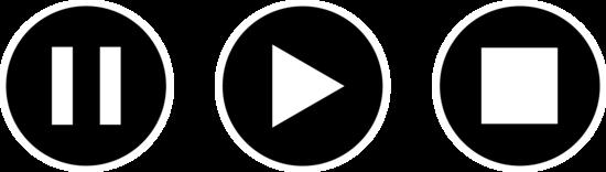 Black Audio Icons