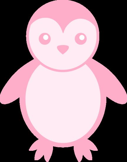 Baby Pink Penguin