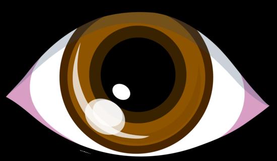 Simple Brown Eye Symbol