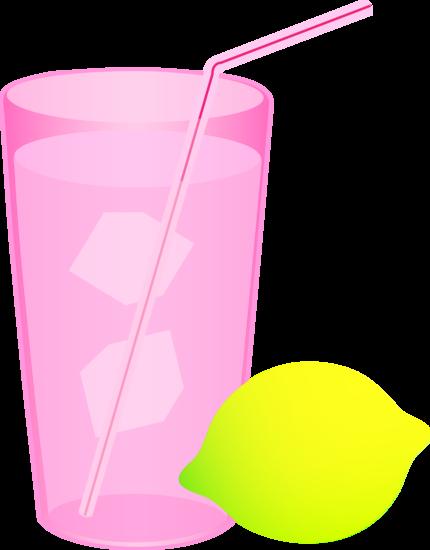 Iced Pink Lemonade
