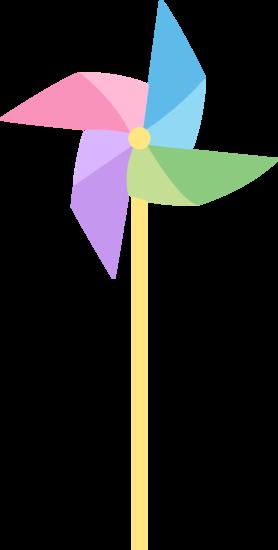 Pastel Pinwheel Toy