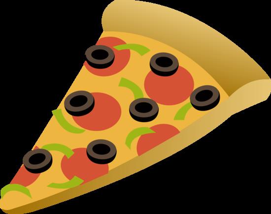 Combination Pizza Slice