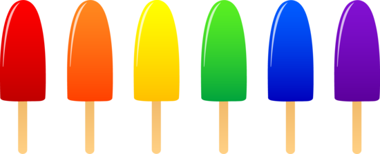Popsicles in Six Flavors