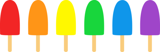Simple Popsicles Illustration