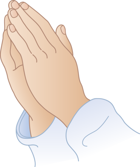 Praying Hands 1 Free Clip Art