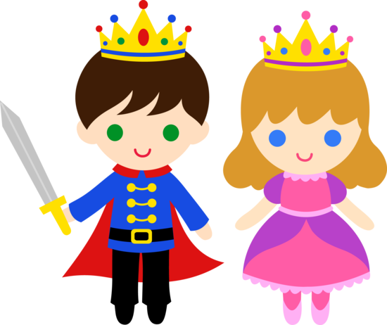 Prince and Princess Clip Art