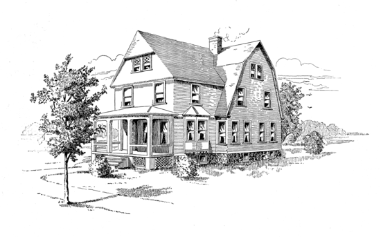 Public Domain House Clipart 2