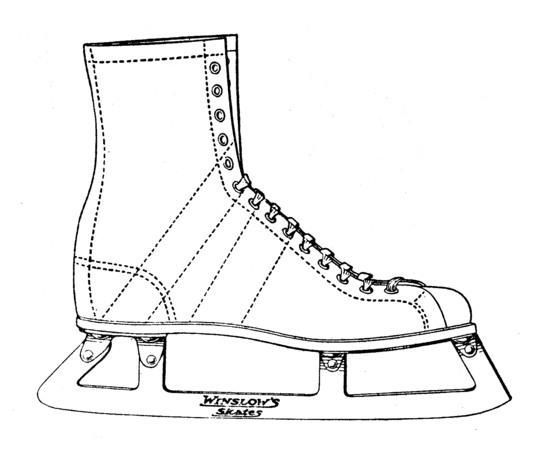 Public Domain Ice Skate 2