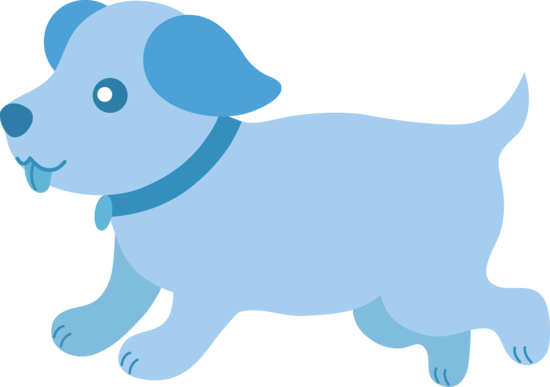 cute blue puppy running free clip art rh sweetclipart com Real Cute Puppy Clip Art puppy monkey baby clip art