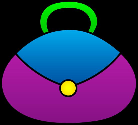 Cute Purple Purse