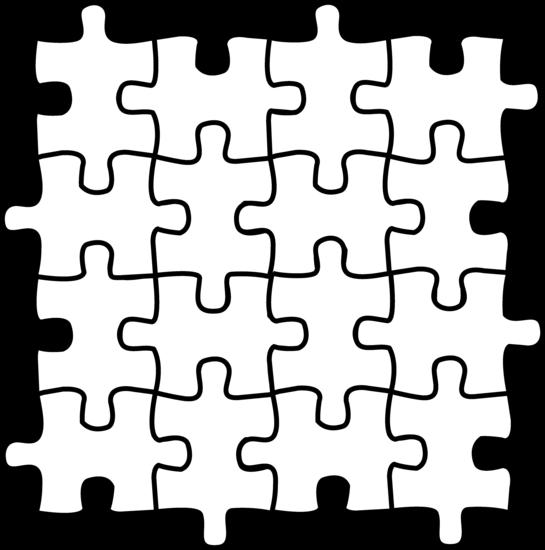 Colorable Puzzle Pieces