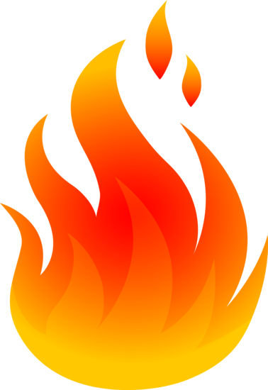 Simple Fire Logo Design