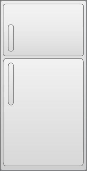 Refrigerator Vector Design