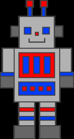 Cute Silver Robot