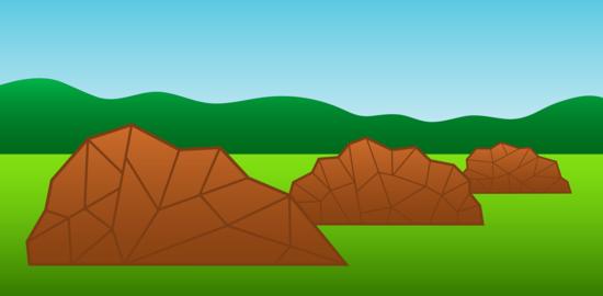 Nature Scene With Rocks