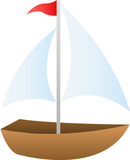 Cute Sailboat Clip Art