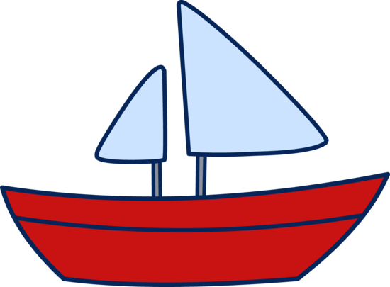 Cute Simple Sailboat Design