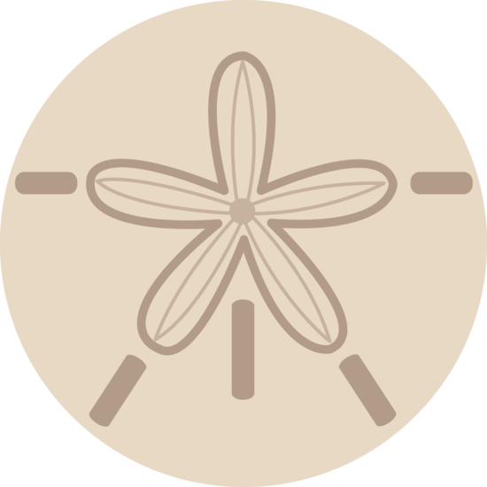 Sand Dollar Shell Design - Free Clip Art