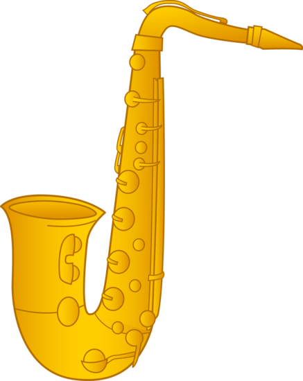 Saxophone Clip Art Design