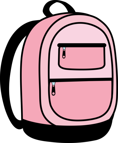 Pink School Back Pack Design