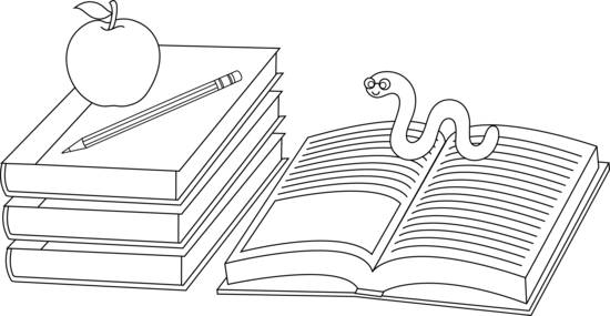 School Books Coloring Pages Educational Coloring Page