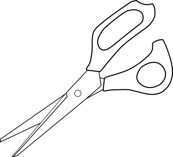Black and White Scissors