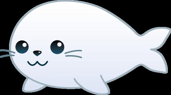 Cute Baby Seal Clip Art