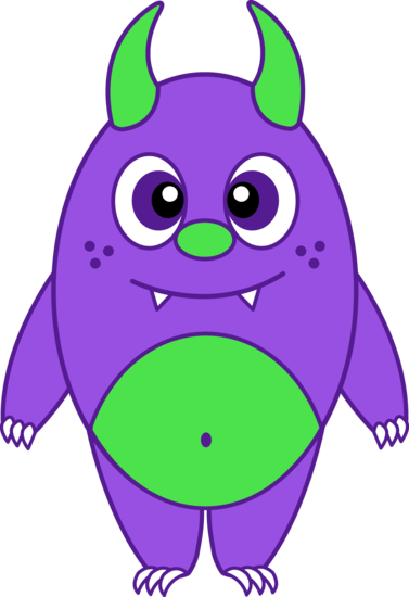 Silly Little Purple Monster