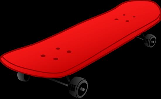 Red Skateboard Design