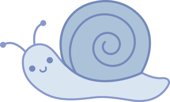 Baby Blue Snail