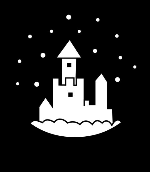 Snow Globe Silhouette