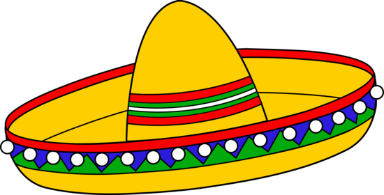 Colorful Sombrero Hat