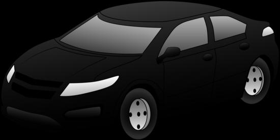 Cool Black Sports Car