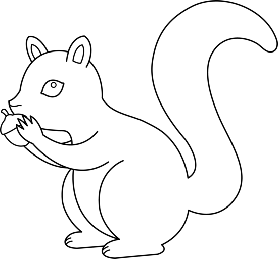 cute chipmunk coloring pages - photo#27