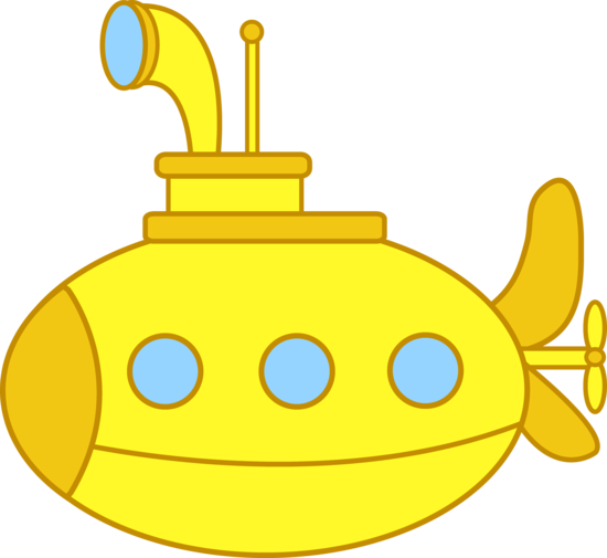 Cute Little Yellow Submarine
