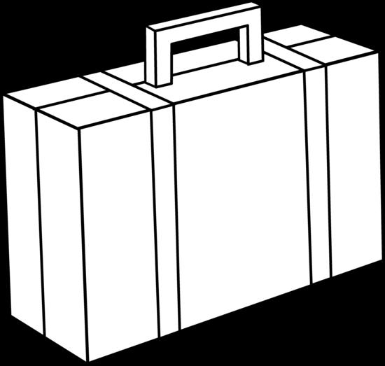 Briefcase Line Art