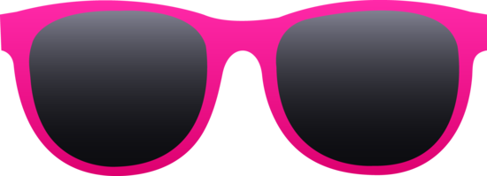 Hot Pink Sunglasses