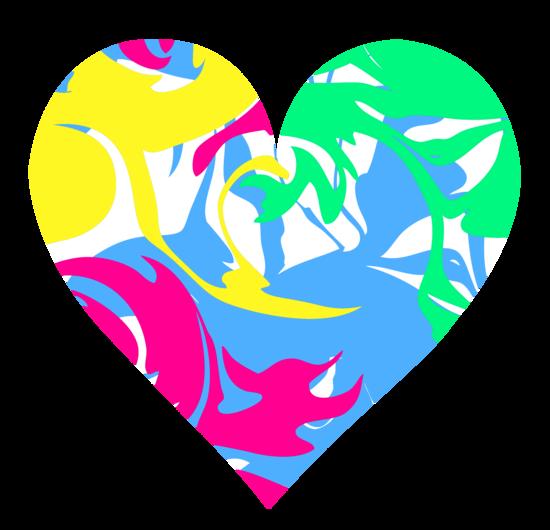 Cute Swirly Heart