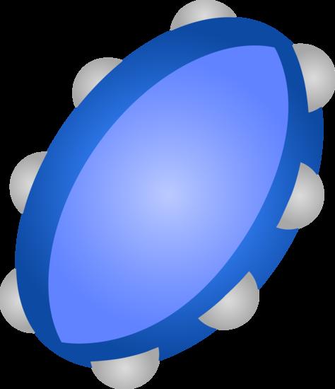 Blue Tambourine