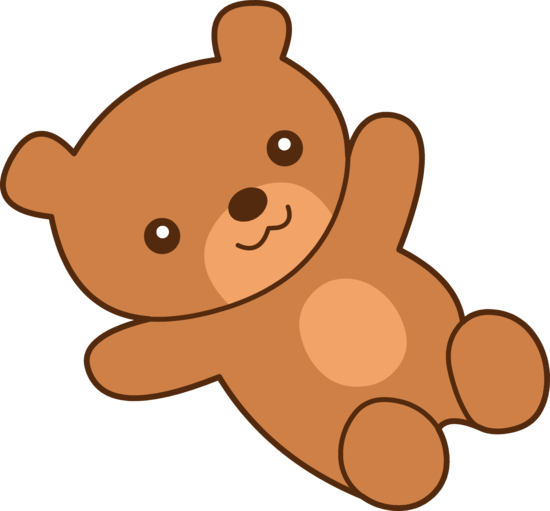 Cute Brown Teddy Bear Clip Art