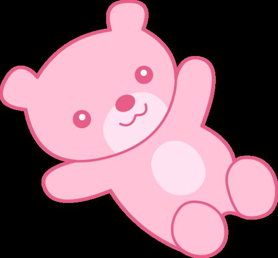 Cute Pink Teddy Bear Clip Art