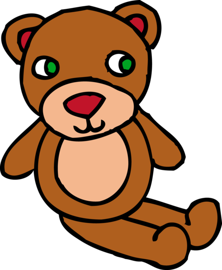 Cute Brown Teddy Bear Toy