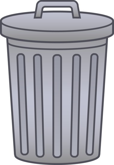 Trash Can Clip Art