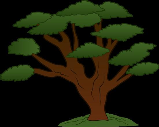 Oak Tree Clip Art Design