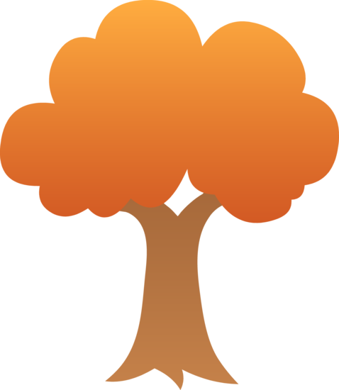 Cute Autumn Tree Design