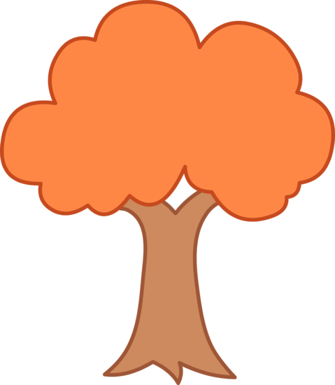 Simple Autumn Tree Design